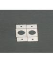 SS03 Bracket (Pair) For Curtain Rail
