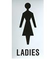 SD02 Door Sign - Ladies