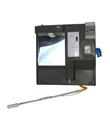 SLBB9 Backboard Heaters Complete Marble Grey